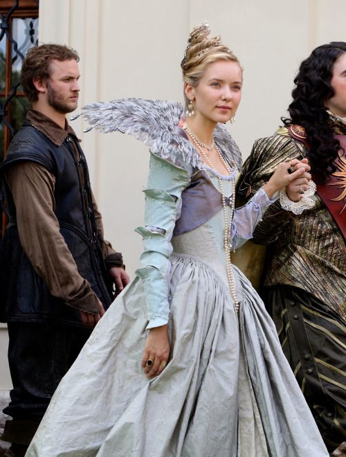 Alexandra Dowling as Queen Anne on The Musketeers (TV Series, 2015). [x]