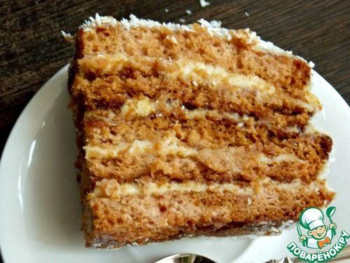 """Торт """"Проказница Еленка"""" - кулинарный рецепт"""