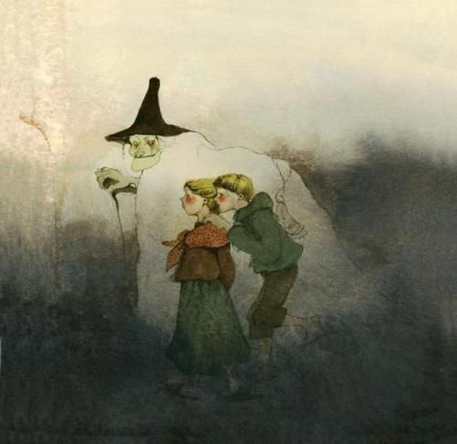 Great Books for Children: Fairy Tales and the Art of Lisbeth Zwerger (Hansel and Gretel)