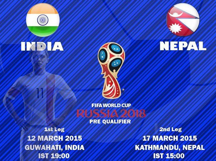 India vs Nepal World Cup Qualifier Match schedule...