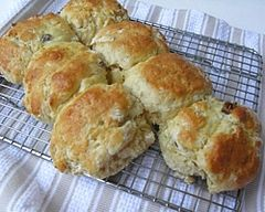 Lemonade adds a touch of zingy sweetness to this non-traditional scone recipe.