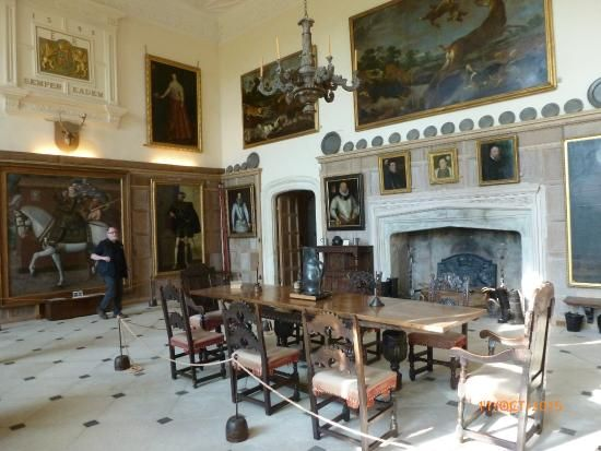 The Great Hall @ Parham House (Storrington, England):