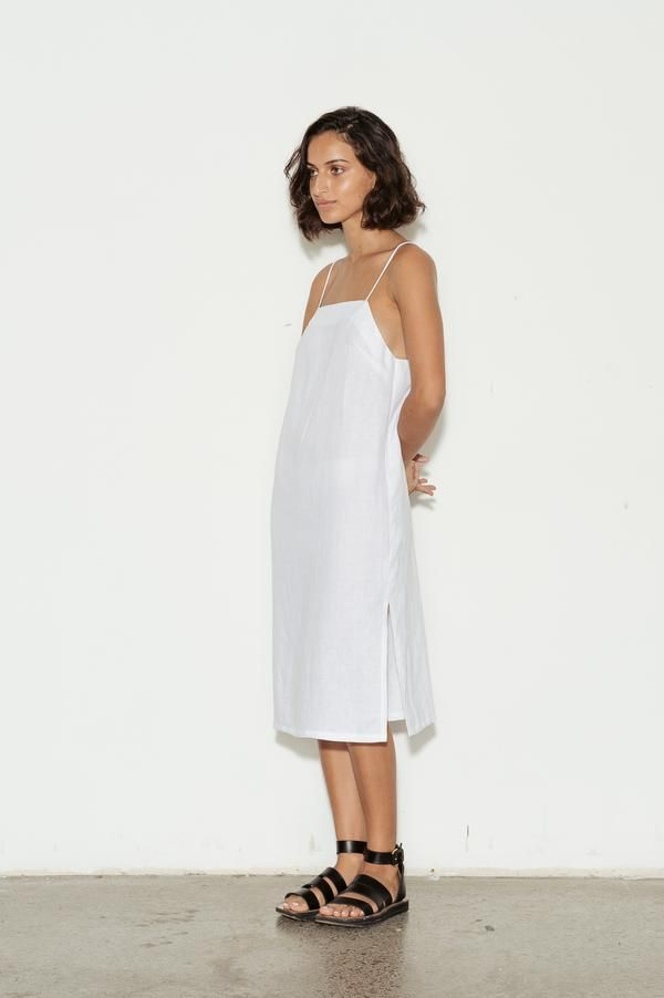 Square Neck Linen Dress Linen Dress Shop Designer Dresses Square Neck Dress