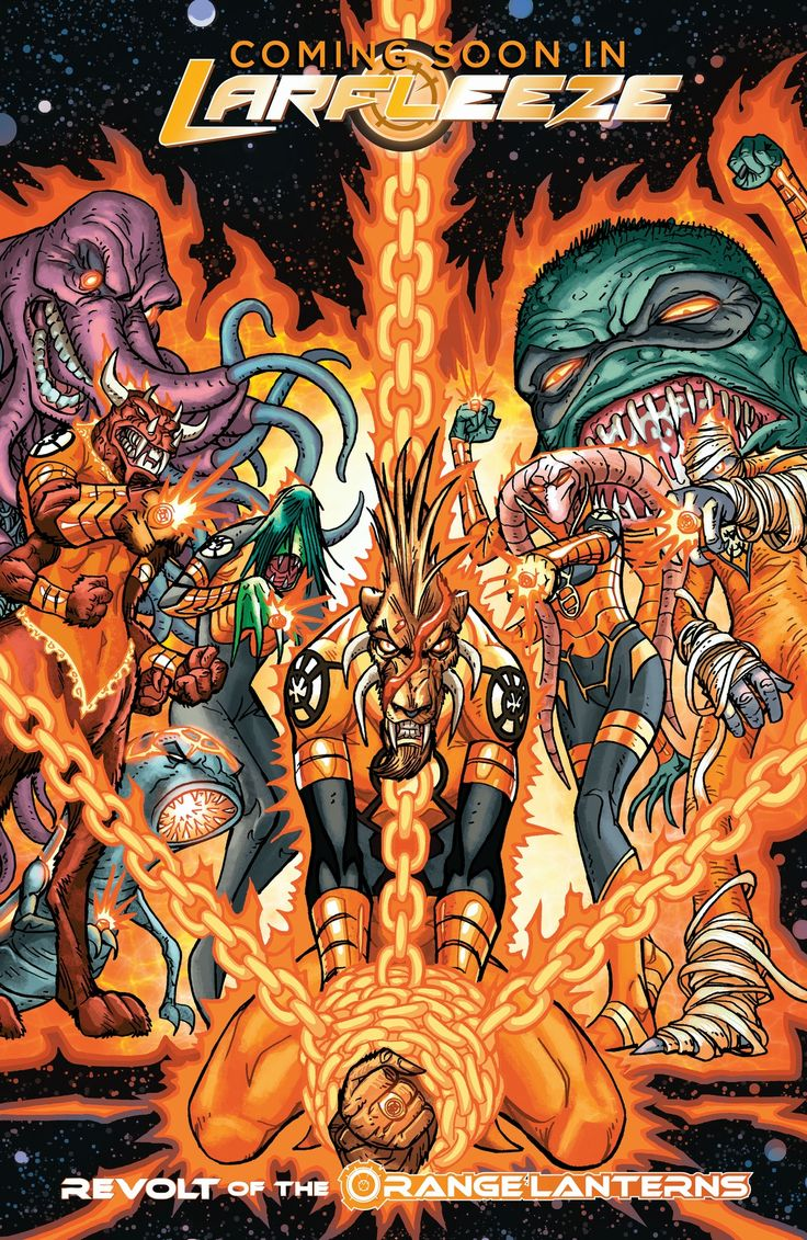 orange lantern images | Orange Lantern Corps