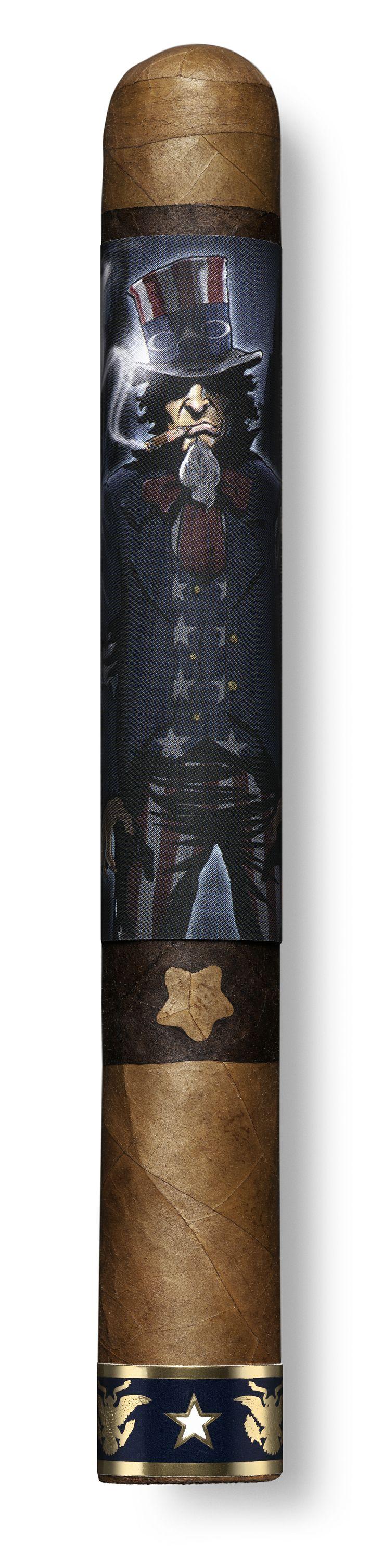 CAO Sinister Sam Cigar, a new twist on CAO America. http://cigarczars.com/press/cao-sinister-sam-cigars.htm    (Photo courtesy of General Cigar)