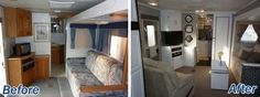 great job! rv/interior decor/living room