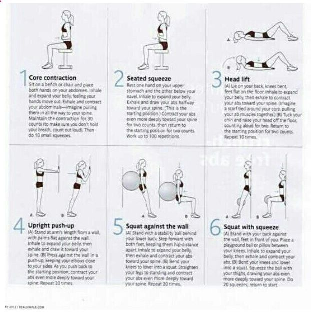 Flat Belly exercises to help heal your diastasis recti (separated abdominal muscles) after baby! Pronunciation: dye-uh-STAY-siss REK-tye I did this for several months after baby #2 and it worked. I forgot about it until recently.