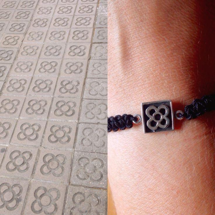 Bracelet PANOT of sterling silver 925