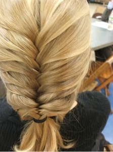 Trança: Braids Hairstyles, French Braids, Frenchbraid, Long Hair, French Fishtail, Work Hairstyles, Fishtail Braids, Hair Style, Thick Hair