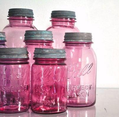 Pink Ball jars OMG!! WHERE CAN I FIND THEM!