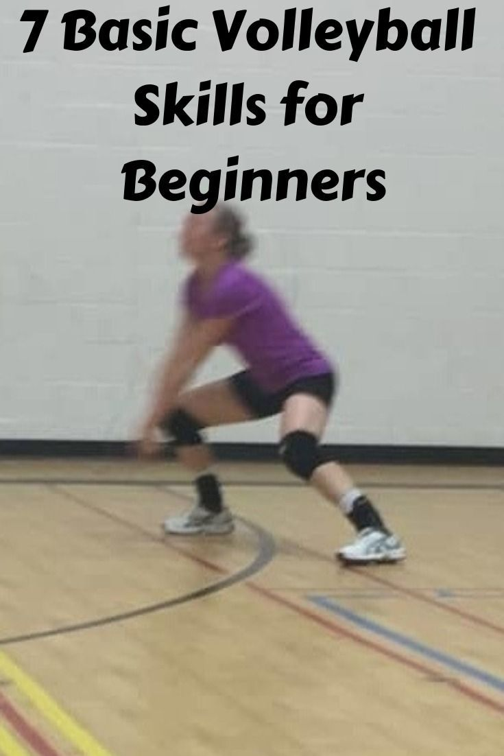 7 Basic Volleyball Skills For Beginners Volleyball Skills Coaching Volleyball Kids Volleyball