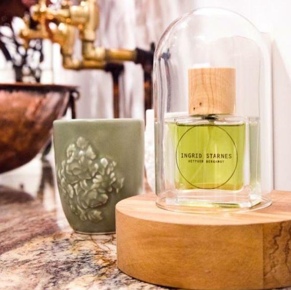Ingrid Starnes fragrance in our Ponsonby store.