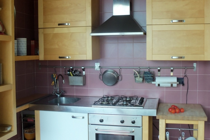 Lake Como Accommodation Panorama Apartment.     a simple kitchen ...for the finest italian food