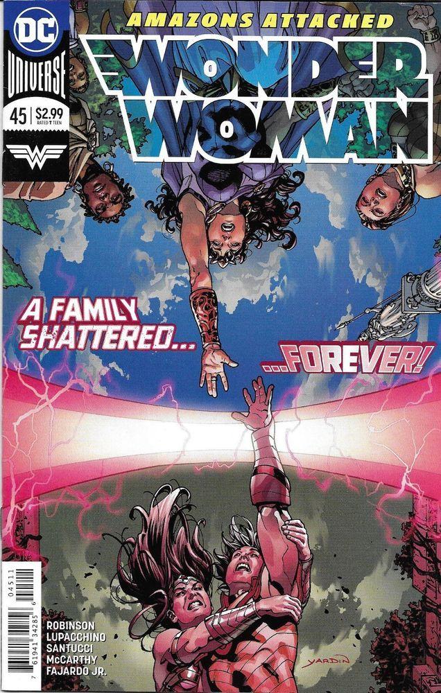 Wonder Woman Comic Issue 45 Modern Age First Print 2018