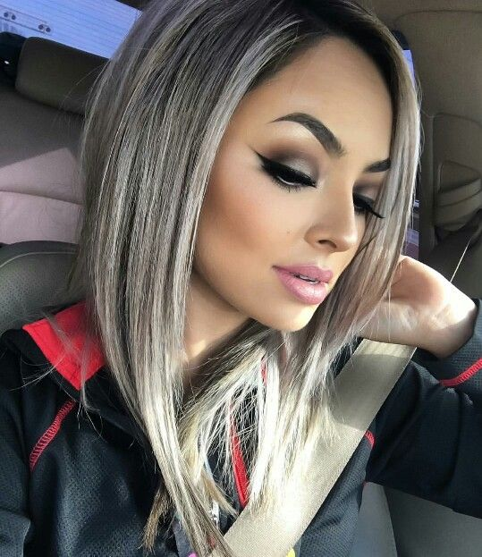 Love the hair color and make up