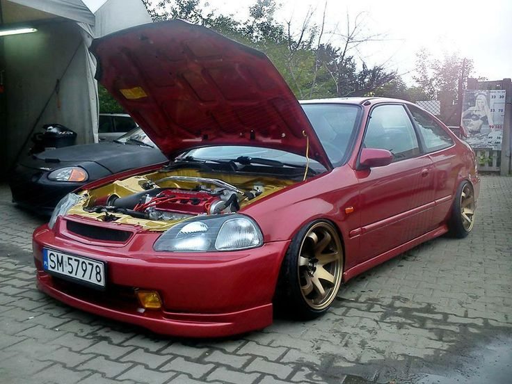 #Clean #JDM #Honda #Civic #Coupe #EJ6 #engineBay | Cars to buy JDM idea | Pinterest | Honda ...