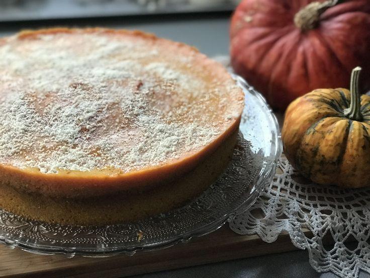 Pomarańczowo dyniowe ciasto jaglane  Bez glutenu i bez cukru  Przepis: http://www.redlifestory.com/recipe/pomaranczowo-dyniowe-ciasto-jaglane/