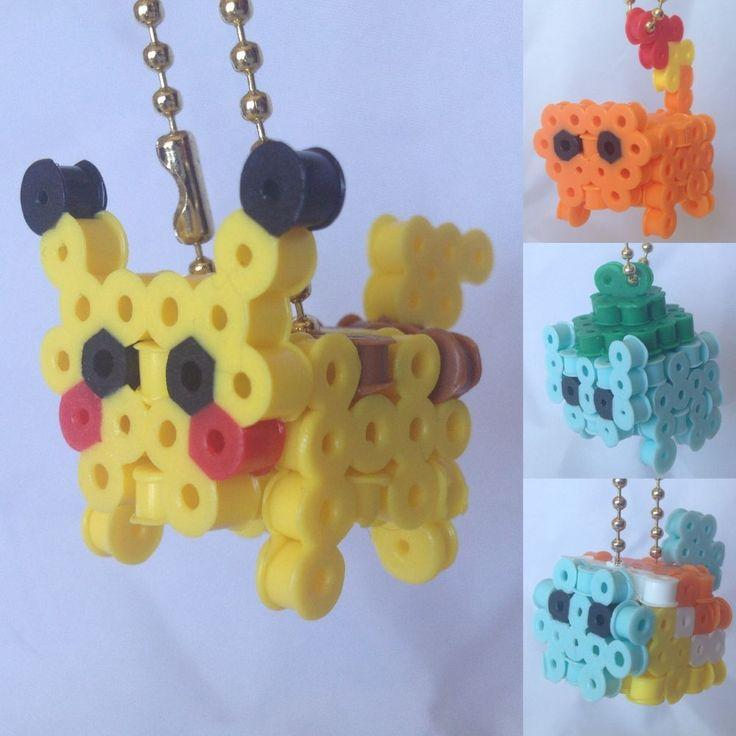 Pokemon Perler Bead Sprite 3d Bundle Pokemon Perler Beads Perler Beads And Sprites