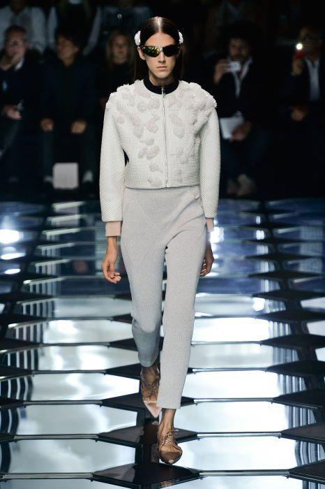 Balenciaga spring 2015 collection show. Photo: Imaxtree