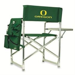 University Of Oregon Ducks Folding Camping Chair With Side