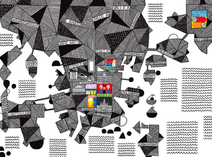 marimekko map of helsinki