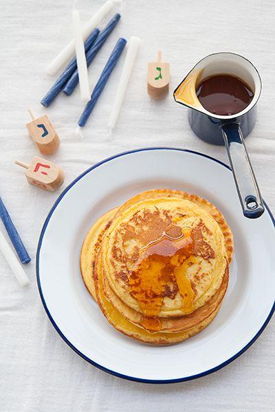 Ricetta Latkes al formaggio (o pancakes di ricotta) - Labna