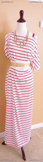 Cute DIY!: Maxi Dresses, Sewing Projects, Diy Tutorial, Maxis, Diy Clothes, Asymmetrical Maxi, Easy Diy