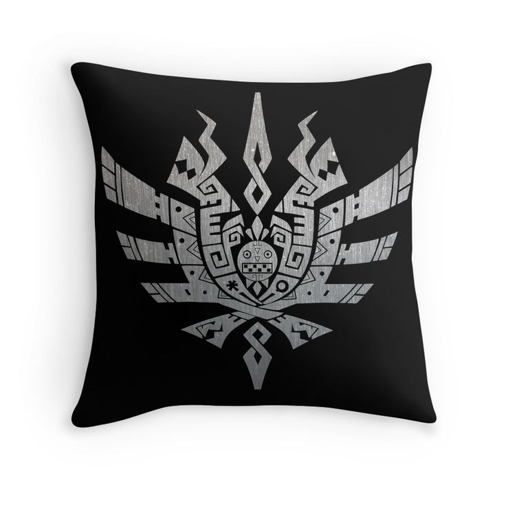 Monster Hunter 4 Ultimate Throw Pillows