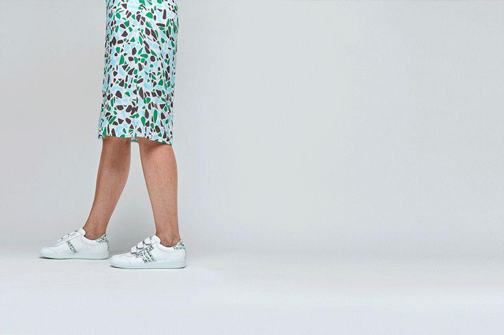 retro stílus tisza cipő