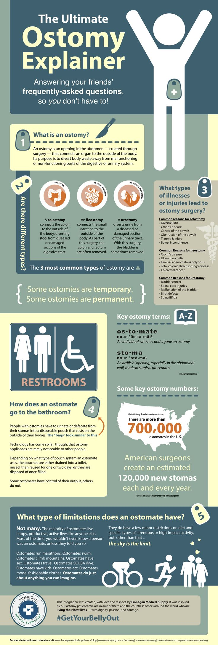 [Infographic] The Ultimate Ostomy Explainer #infographic #ostomy from The Prescription Pad at https://www.finneganmedicalsupply.com/blog/infographic-the-ultimate-ostomy-explainer