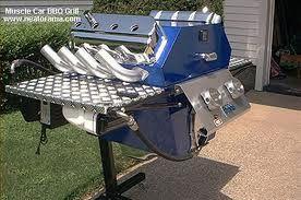 custom BBQ grills.