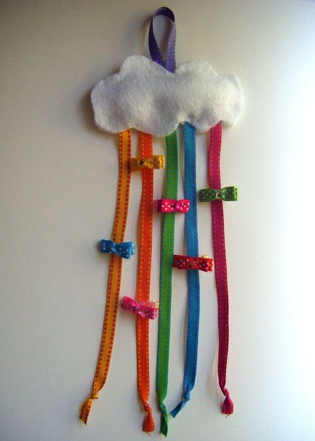shellmo: Cloud Hair Clip Holder