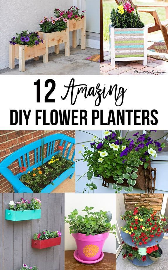 12 Easy Diy Flower Gardening Ideas For Spring Creative Ideas