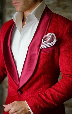 How can one get any better than this? S by Sebastian Dinner Jacket includes #sebastiancruzcouture pocket square. Be Bold. Get yours today! For first time customers use coupon code: Handmade