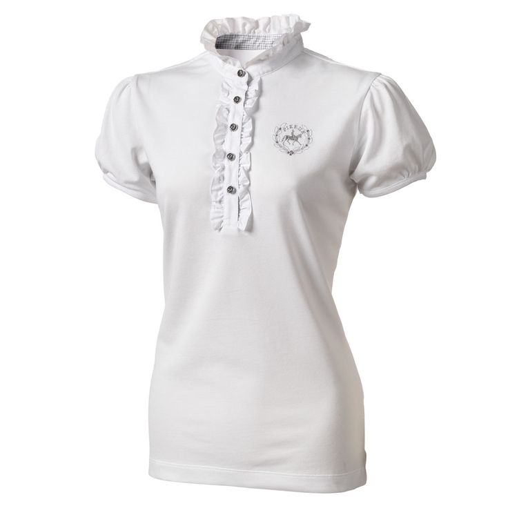 Pikeur Ladies Competition Shirt 489 - White