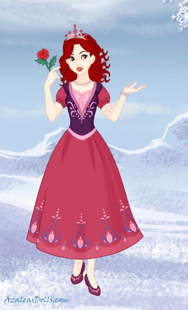 Little Princess Rose Red | Disney Movies & Characters ...