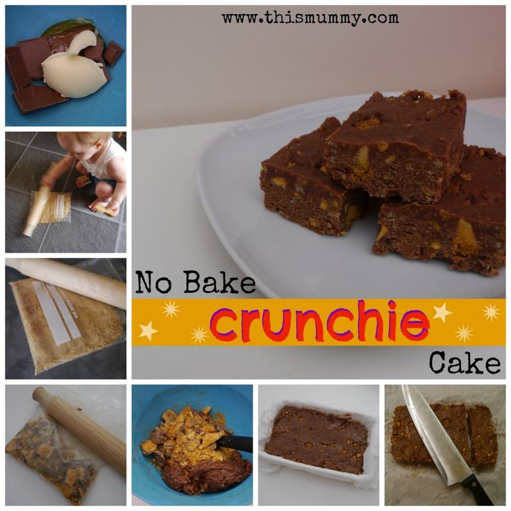 No-Bake Crunchie Cake :: This Mummy... @AbdulAziz Bukhamseen Mummy