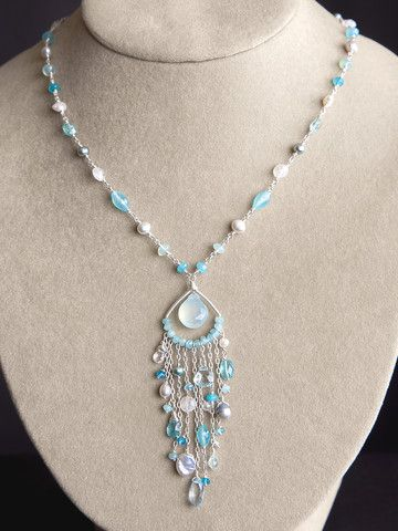 Harmony Scott Jewelry Design - Salacia Necklace | Handmade Necklace by Harmony Scott Jewelry Design