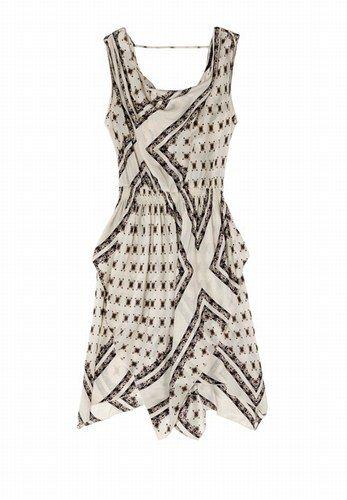 Zara: Kleid mit Print - Sommerkleider