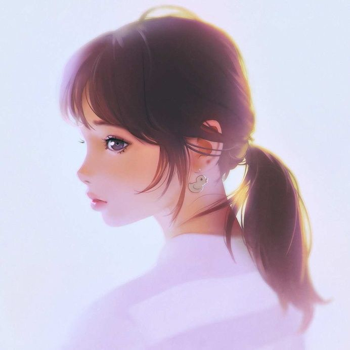Gorgeous Character Illustrations by Ilya Kuvshinov in Illustrations