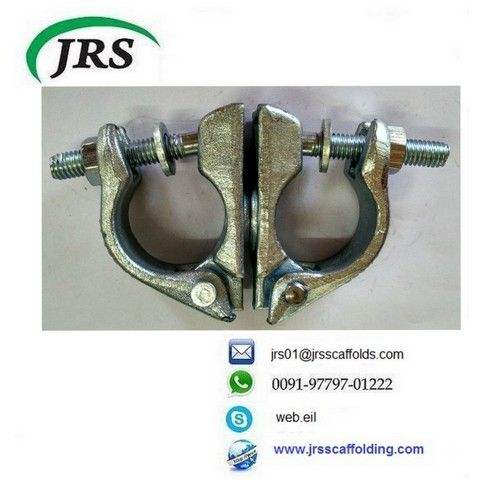 Drop forged british type steel pipe part scaffolding clamp swivel coupler.