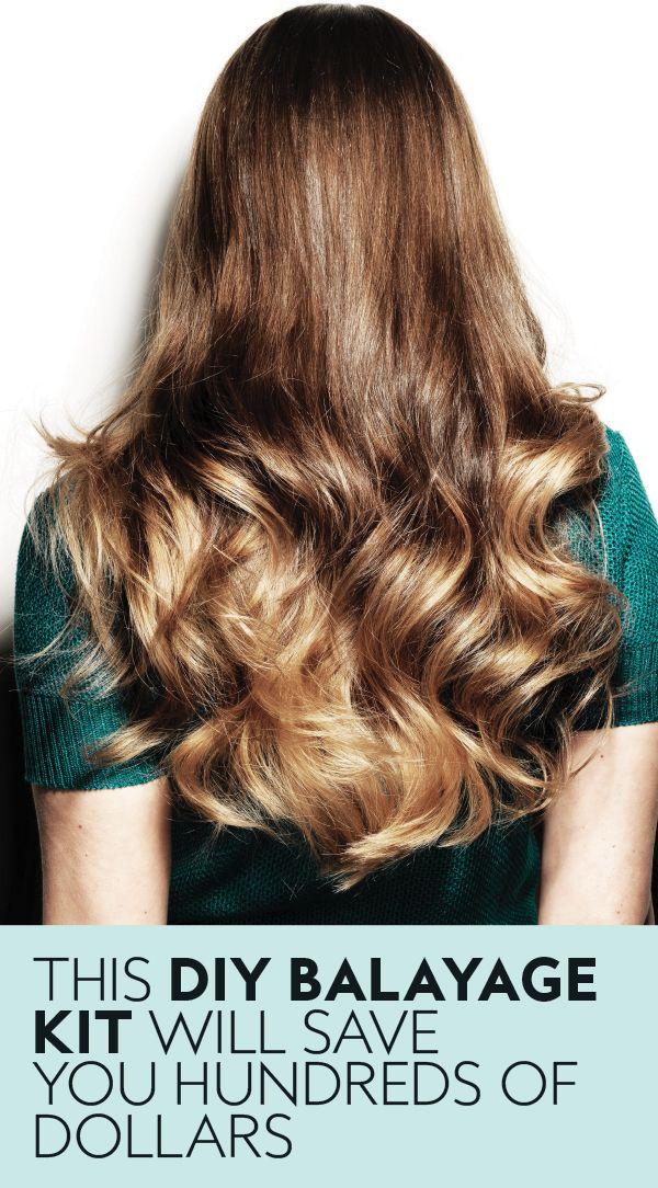 Balayage Hair Color Diy Balayage Kits Diy Balayage Hair Color Balayage Diy Highlights Hair