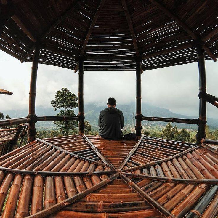 omah bambu merapi new selo boyolali jawa tengah