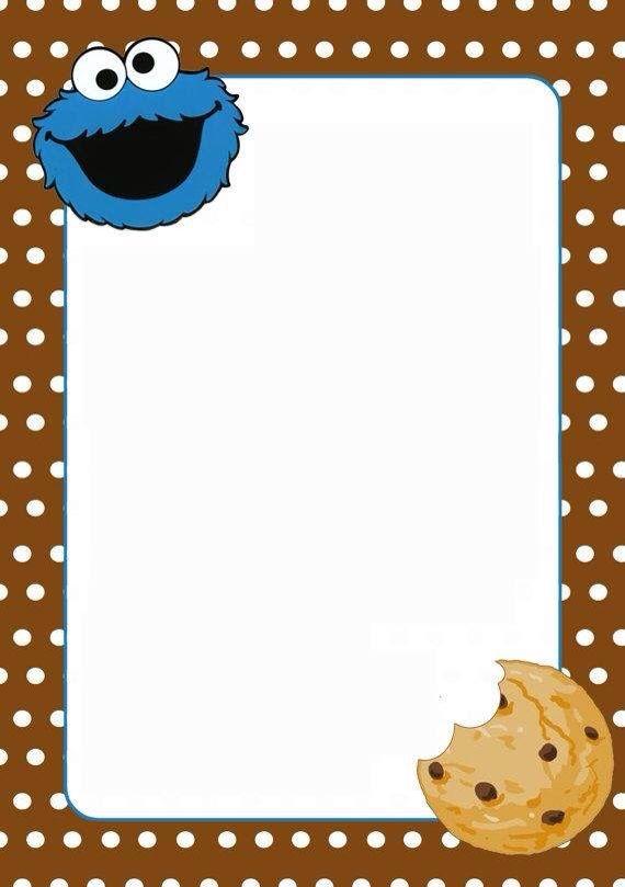 Ziemlich Cookie Monster Vorlage Bilder - Beispiel Wiederaufnahme ...