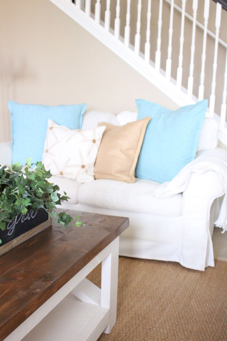 Casual and Coastal Living Room by Starfish Cottage