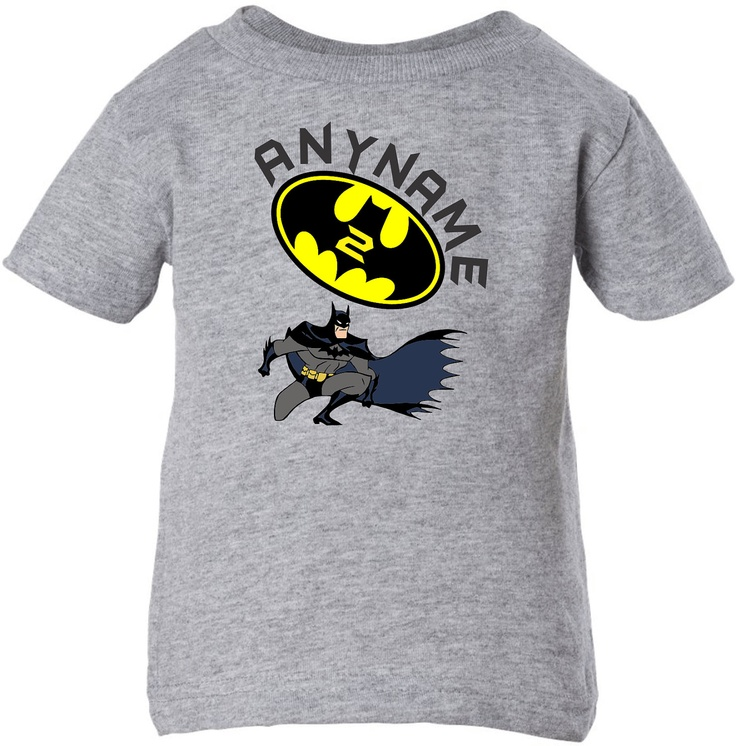 Batman Cute Inspired Childrens Birthday Shirt for Infant ...