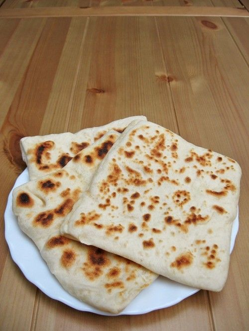 Rghaif, marokkói lapos kenyér - töltött