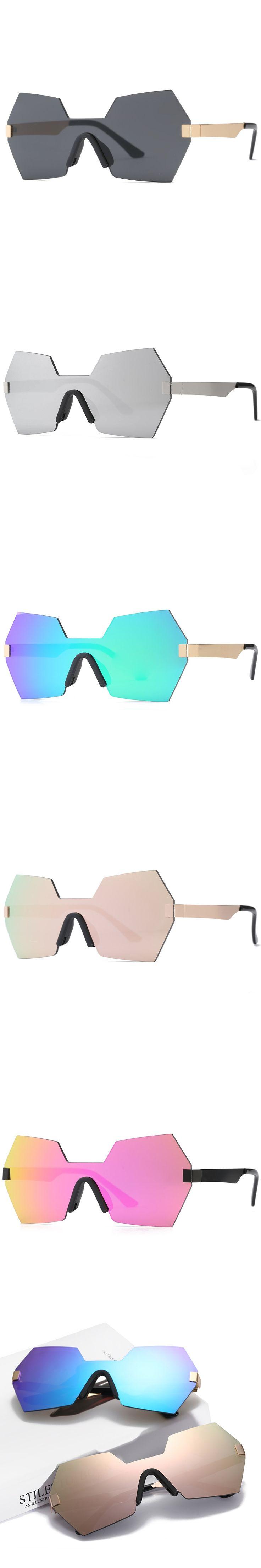 New 2017 Brand Design Vintage Polygon Metal Frame Goggles Sunglasses Men/women Driving Travel Eyewear Lunette De Soleil Femme