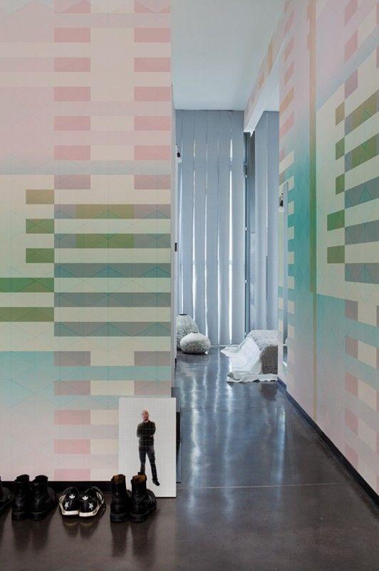 ANNI. To purchase: contact RADform at +1 (416) 955-8282 or info@radform.com  #wallpaper #interiordesign #moderndesign #contemporarydesign #radform #architecture #commercial #hospitality