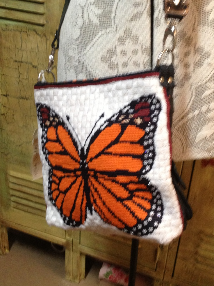 Statement Clutch - MONARCH WINGS DESIGN by VIDA VIDA